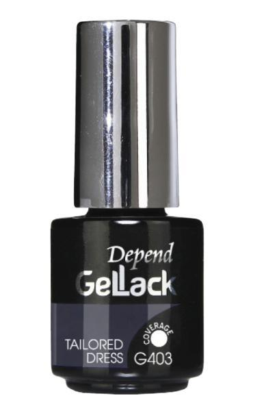 DEPEND GELLACK 5 ML G403 TAILORED DRESS