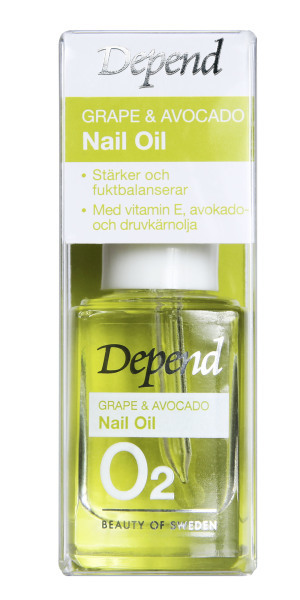 Depend O2 Grape & Avocado nail oil 11ml