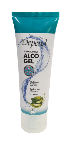 DEPEND ALCOGEL 75ML KÄSIDESI