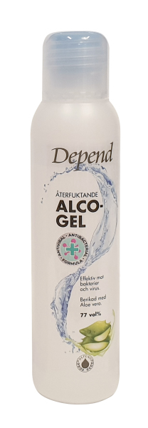 DEPEND ALCOGEL 100ML KÄSIDESI